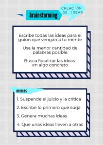 Planner-brainstorming