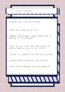 Bateria de preguntas