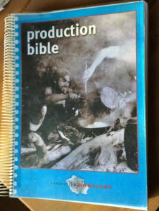 Biblia de producción