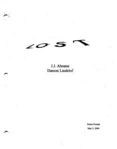 Lost Perdidos Desaparecidos