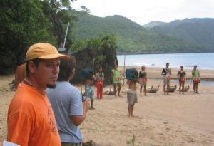 David Esteban Cubero en La Isla de los Famosos