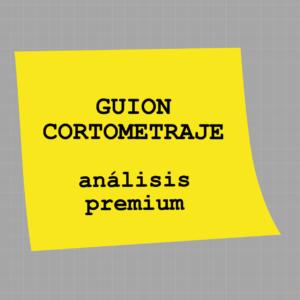 Analisis premium de guion de cortometraje