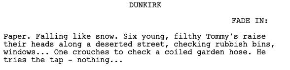 Descripcion Dunkirk
