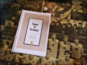 Planner Personajes- David Esteban Cubero
